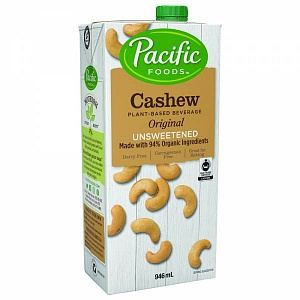 Pacific Foods Cashew Original - unsweetened
