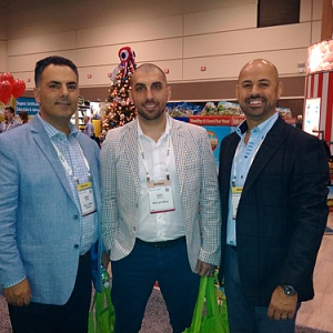 (l-r) Mike Fronte, Luca DeMarco and Mike Dattoli of Mike and Mikes Organics