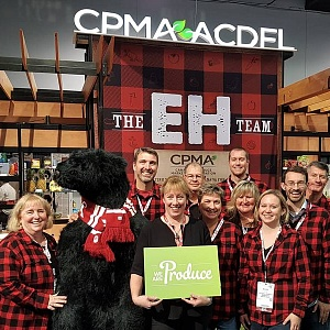 CPMA/ACDFL's EH Team flying the flag for Canada