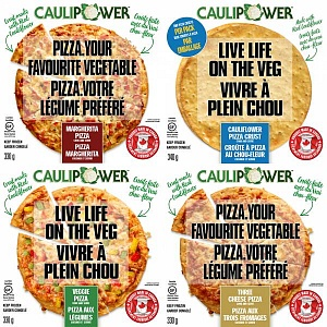 CauliPower pizzas
