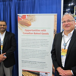 Ahmed Mutaher and Paul Hetherington - Baking Association of Canada