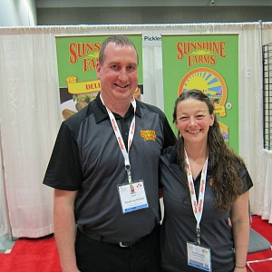 Adrian and Joanne Jaques, Sunshine Farms