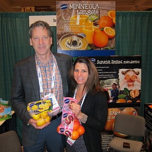 Brian Slagel and Julie DeWolf, Sunkist Growers