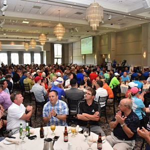 A sold out tournament and dinner