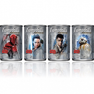 Campbell launches Star Wars inspired soup labels
