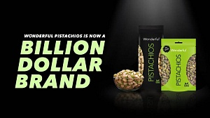 Wonderful Pistachios is a billion dollar brand