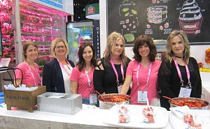 Jaime Ofner, Fiona McLean, Courtney Sutton, Cheryl Mastronardi, Suzy Dalimonte and Sharon Bologna DelFresco Pure