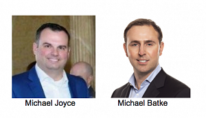Michael Joyce and Michael Batke appointments at P&G
