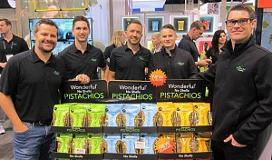 A Wonderful Team with new shelled Pistachios, launching early 2020