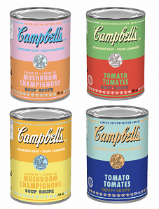 Campbell Warhol Soups