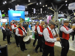 Marching in at CHFA West