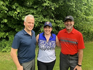 Peter Weicker, Christina Barrett, Fortinos, and Jim Slomka, Clorox