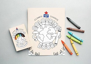 Maple Leaf Foods colouring kit