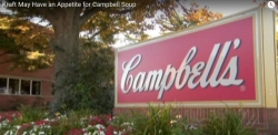 WATCH: Campbell shares soar on report Kraft may buy the soup company