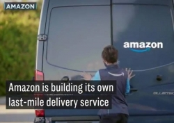 WATCH: Amazon takes on FedEx, launches startup delivery service