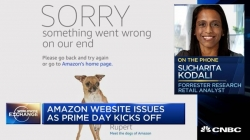 WATCH: Prime Day sales surge despite tech glitch