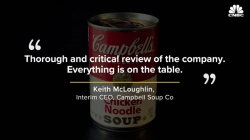 WATCH: Campbell Soup at a major crossroads