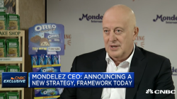 WATCH: Mondelez CEO on growth, its snacking future and e-commerce