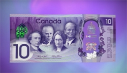 WATCH: Bank of Canada unveils a cool new banknote