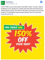 Food Basics rolls out province-wide 150% off campaign