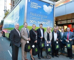 Loblaw unveils first fully electric truck