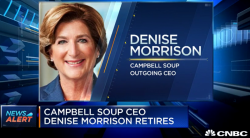 WATCH: Campbell Soup announces the abrupt retirement of CEO Denise Morrison