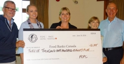 FCPC golf tournament raises thousands for food banks