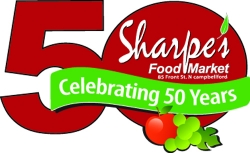 SHARPE'S 50TH ANNIVERSARY CELEBRATION